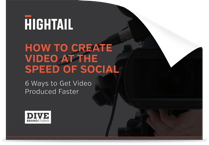 How to create video at the speed of social