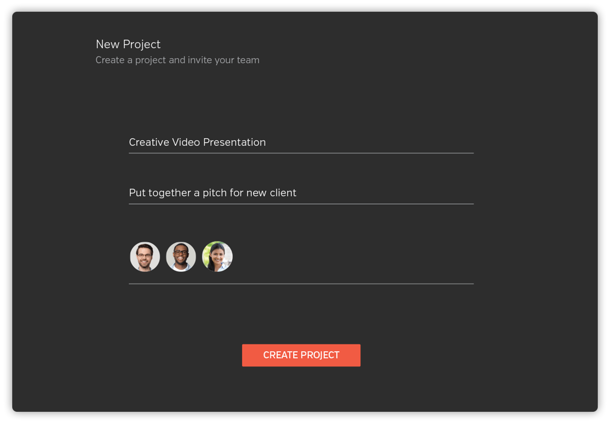 Add team members to a project